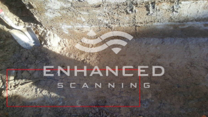 Site Photo - Non-embedded reinforcement